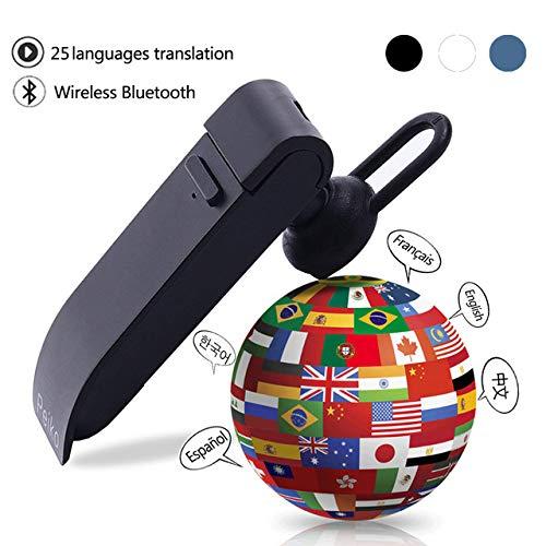 BEESCLOVER 25 Lingue traduzione Cuffie Smart Voice Translator Instant Translate Wireless Bluetooth traduttore Auricolare
