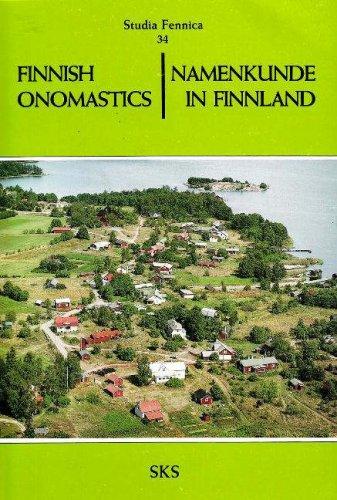 Finnish Onomastics: Namenkunde in Finnland