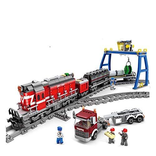 Aiya Technic série Emerald Night Train modèle Building Kits Bloc Briques Jouets pour Enfants Cadeau Compatible avec Lego