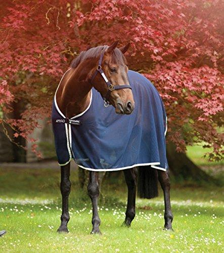 Horseware Amigo Net Cooler - navy/silver, Groesse:155