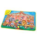 XuBa XuBa Spielmatte für Kinder, Mehrfarbig, mit Spielzeug, für Kinder und Kleinkinder, mit Musik, Spielzeug, wasserdicht, Lernspielzeug, 72 x 48 cm