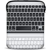MySleeveDesign Samsung Galaxy Tab 4 7.0 Sleeve Hülle für Tablets von 7 - 7,9 Zoll - Tasche geeignet für Fire HD Apple iPad mini Lenovo A7 Acer A1 One 7 Asus Nexus Kindle uvm. - Keyboard [7]