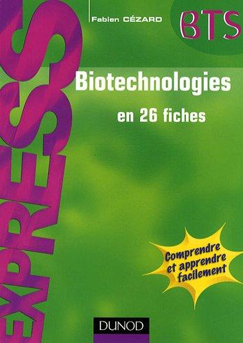 Biotechnologies en 26 fiches