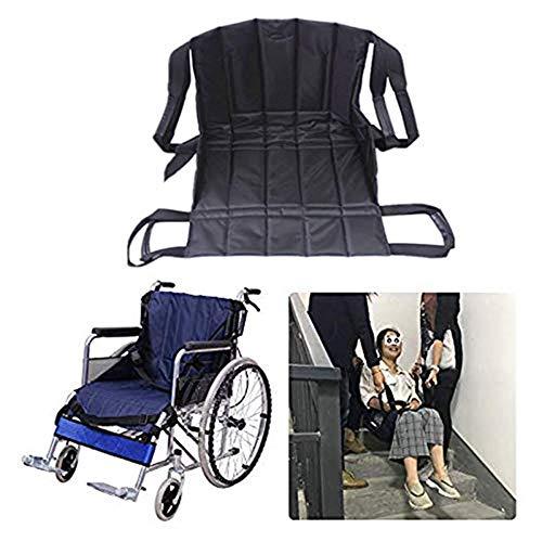 Transfer Lift (Jeamive Patient Lift Treppe Board Transfer Notfall Evakuierung Stuhl Rollstuhl Gürtel Sicherheit Ganzkörper medizinische Hebeschlingen Schiebescheibe Verwendung für Senioren, Handicap)
