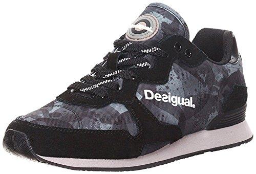 Desigual SLOWLY, Scarpe da ginnastica Donna, Nero (Schwarz (2000)), 38