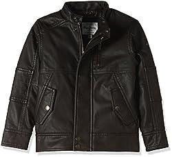 Pepe Jeans London Boys Jacket (YCLIF LS K 4_Dark Brown_4)