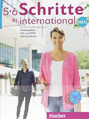 Schritte international. Neu. Deutsch als Fremdsprache. Medienpaket. CDs und DVD zum Kursbuch. Per le Scuole superiori: SCHRITTE INT.NEU 5+6 Medienpak.(CD+DVD)