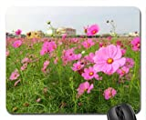 Pink Cosmos Mouse Pad, Mousepad (Flowers Mouse Pad)
