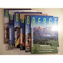 Berge - Das internationale Magazin der Bergwelt : kompletter Jahrgang 2001 [6 Hefte].