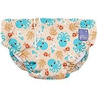 Bambino Mio, pañal bañador, calamar azul, pequeño (0-6 meses)