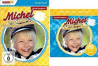 Astrid Lindgren: Michel muss mehr Männchen machen - Spielfilm und Hörspiel im Set - Deutsche Originalware [1 DVD + 1 CD]