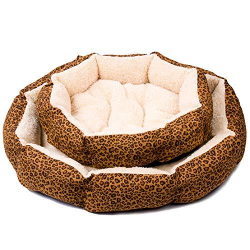 XINGSd Cama algodón Suave Estampado Leopardo Gatos