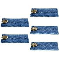 Homyl Lot de 5 Boutons Rallonges pour Jupe Pantalon ou Jeans Fixation à la  Taille 80c4bc5fa3ad