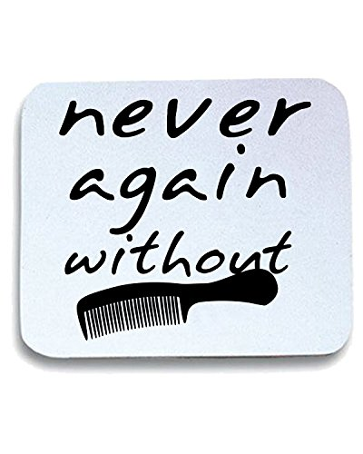 T-Shirtshock - Tappetino Mouse Pad T0413 never again without fun cool geek, Taglia taglia unica
