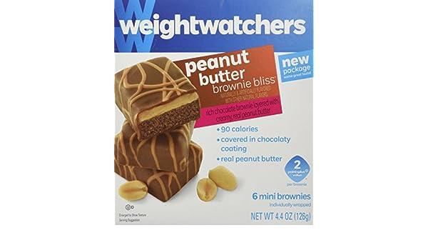 weight watchers peanut butter brownie bliss package 3 by weight watchers amazon de drogerie korperpflege