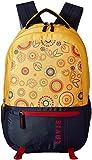 Lavie Yellow Laptop Backpack (BHEI552076B3)