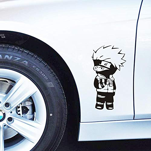 Geiqianjiumai Anime glasaufkleber autotür LKW körper Dekoration und Motorrad wasserdicht Vinyl Aufkleber 37,8X19,8 cm
