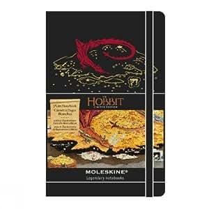 Moleskine The Hobbit Limited Edition Hard Plain Large Notebook 2013 - Black