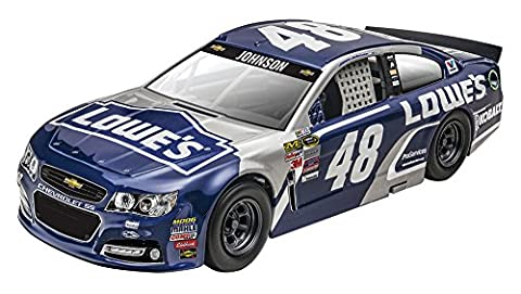 Revell SnapTite MAX NASCAR 2016 Jimmie Johnson Lowe's Chevy SS Model Kit