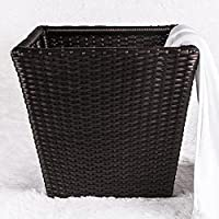 Forniture alberghiere Rattan Abbigliamento bagagli Basket, due stili disponibili (