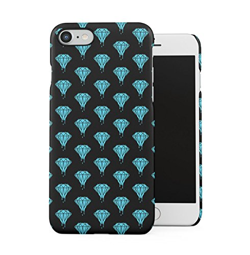 Diamonds Vs Weed Apple iPhone 7 Snap-On Hard Plastic Protective Shell Case Cover Custodia Diamonds