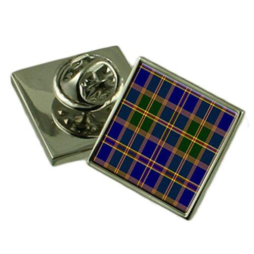 US-tartan Hawaii Silber 925 Ehrennadel Abzeichen (Hawaii Shirts Hochzeit)