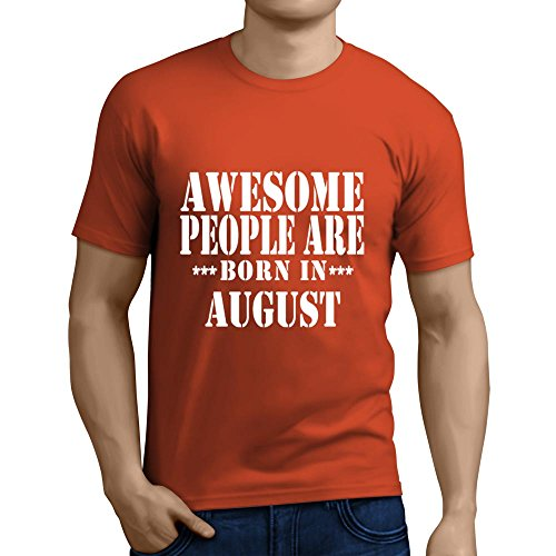 Falcon Premium Men's T-Shirt | Awesome People are born in August | Birthday, Anniversary Gift | born in august | August t shirt