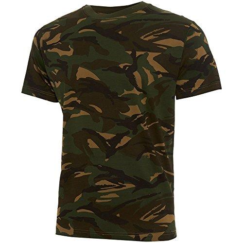 Army And Workwear Jungen Hemd WOODLAND British DPM CAMOUFLAGE (Camouflage Kids Woodland T-shirt)