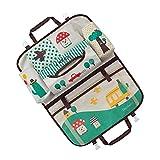 Zorux - Universal Stivaggio Riordino sacchetto della mummia di immagazzinaggio sacchetto d'attaccatura per i bambini del carrello del pannolino del bambino del sedile posteriore dell'automobile dell'organizzatore auto-styling [Verde]