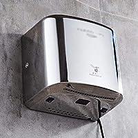 AA-SS Espejo secador de Acero Inoxidable, secador de Manos automático, secador de