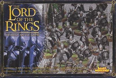 Games Workshop 99121499008 - Seigneur des Anneaux - Figurine - Guerriers De Minas Tirith