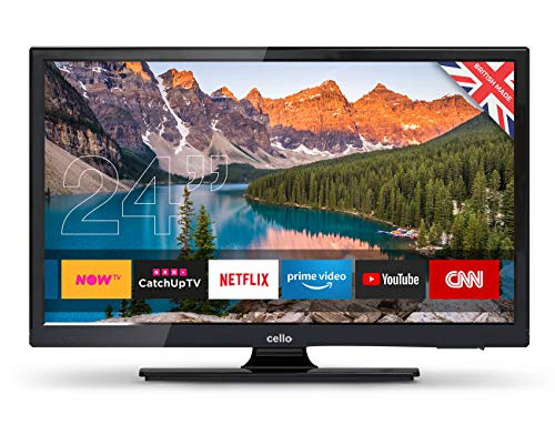 Cello C24SFS 24-Inch Android 7.0 Smart HD Ready LED TV - Black