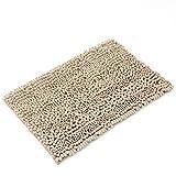 Kitchen mats LINGZHIGAN Bad Wasseraufnahme Rutschfeste Teppich Fuß Pad WC Schlafzimmer Tür Teppich Teppich Matte (Farbe : A, größe : 40 * 60cm)