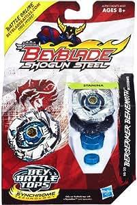 Hasbro – A3961 – Beyblade Shogun Steel – Berserker Behemoth – Toupie de Combat