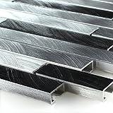 Aluminium Metall Mosaik Sahara Silber Mix