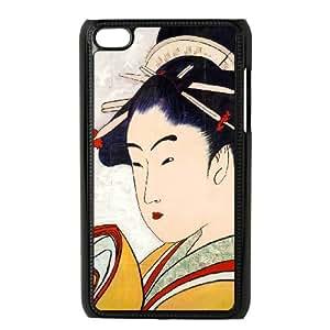 Mixed Media Geisha iPod Touch 4 Case Black Lhob