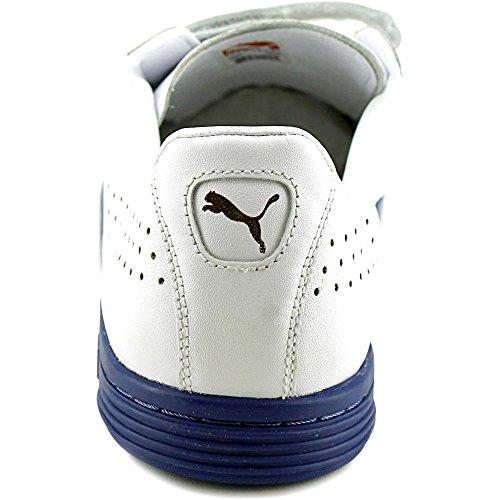 Puma Court Star Strap Cuir Baskets White-White-mb