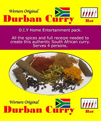 Werner's Original Durban Curry Mix - Hot from Werner