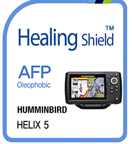 Displayschutzfolie für Humminbird, Afp oleophobe Beschichtung Klar Displayschutzfolie LCD Guard Heilung Shield Film HUMMINBIRD Helix 5 Lcd Guard Film