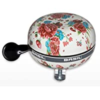 Basil Fahrradklingel Big Bell Bloom, Gardenia White, One Size, 50392