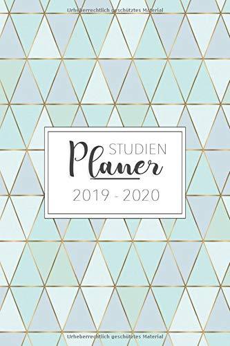 Studienplaner 2019 - 2020: Zeit für Ordnung mit dem Studienplaner, Studentenkalender und Semesterkalender 2019 - 2020 | Terminplaner, Timer, Planer ... Studium von September 2019 bis Oktober 2020 -
