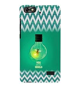 EPICCASE You Light up my World Mobile Back Case Cover For Huawei Honor 4C (Designer Case)