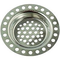 Brinox B70930E - Filtro sumidero, 7,2 x 7,2 x 1,2 cm, color gris
