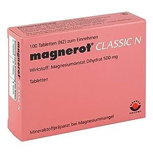 Magnerot Classic N Tabletten, 100 St.