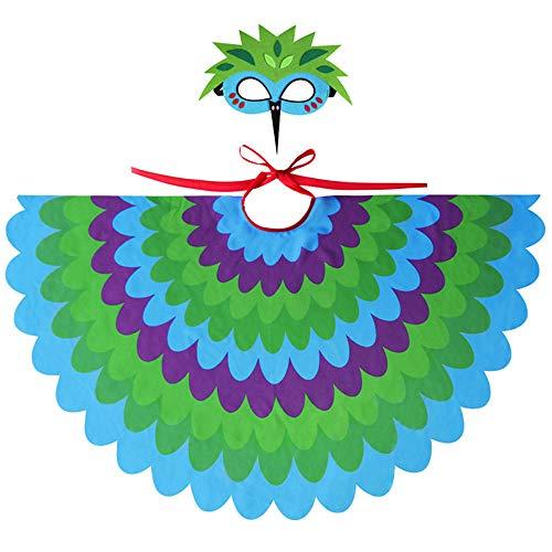 Duless Flügel, Vogel, Kostüm, Kinderkostüm, Mehrfarbig