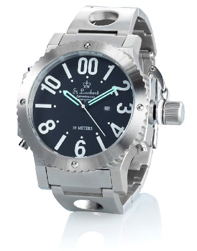 ST. Leonhard nc7301–944–Armbanduhr, Armband in Edelstahl