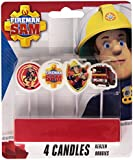 Amscan International Fireman Sam Mini Pick Candles