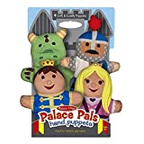 Melissa & Doug 19082 Palace Pals Hand Puppets, Multi Coloured