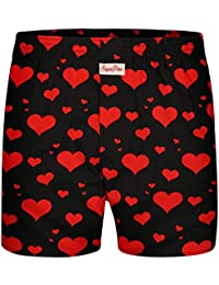 41ebd038a9 Sugar Pine Boxershorts mit witzigen Motiv-Prints aus 100% Baumwolle