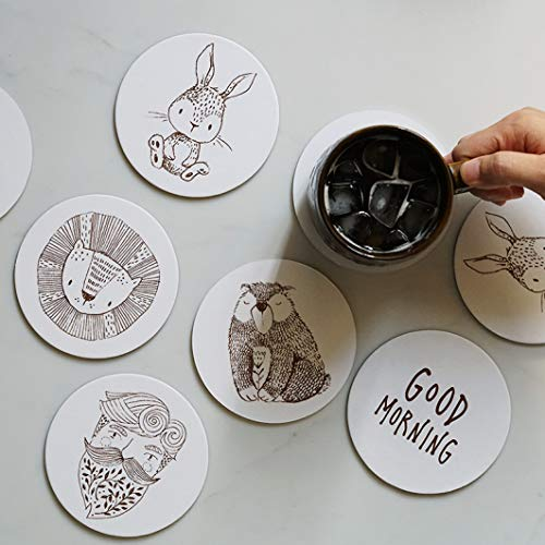 NIKIMI Mantel Creativo Lotus Hardboard Cartón Papel